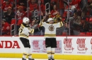 Bruins tie it late, beat Red Wings 3-2 in OT behind Marchand (Dec 13, 2017)