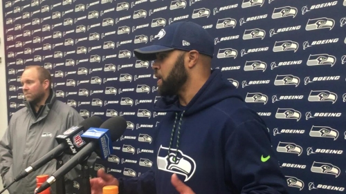 Seahawks D-coordinator Kris Richard says playing without Bobby Wagner and K.J. Wright would be an 'awesome challenge'
