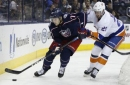 Blue Jackets hold off surge by Islanders to win 6-4 (Dec 14, 2017)