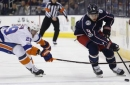 Blue Jackets hold off surge by Islanders to win 6-4