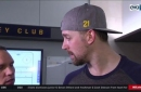 Berglund says Blues need more bodies in front of the net, more shots