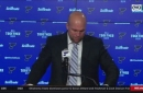 Yeo on Blues' loss to Ducks: 'We're just not executing'