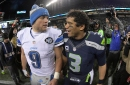 Lions court: Who would you build an offense around: Matthew Stafford or Russell Wilson?