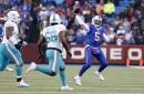 Buffalo Bills quarterback Tyrod Taylor will start against Miami Dolphins