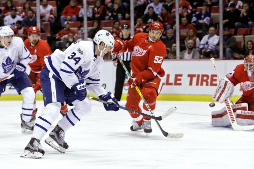 Red Wings: Toronto loaded even without injured Auston Matthews