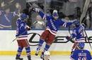 Rick Nash breaks late tie, Rangers beat Kings 4-2
