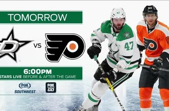 Stars vs. Flyers preview on FSSW PLUS | Stars Live