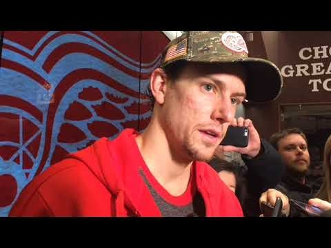Red Wings' Danny DeKeyser: 'We're trying to jump in the play'