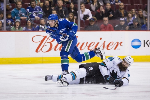 Back On Track! Nucks Drown the Sharks - WIN 7-3! In OT!!!