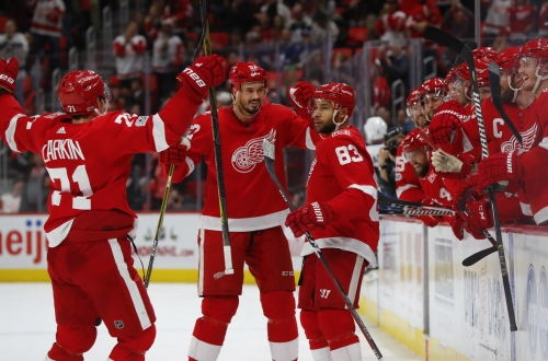 Red Wings finally rewarded for staying with 'the process'