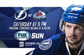 Preview: Lightning visit Avalanche seeking seventh straight victory