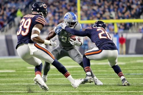 Theo Riddick emerges as Lions' No. 1 back, then suffers injury