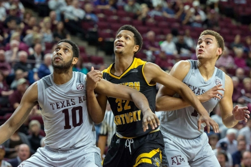 Texas A&M survives a scare from Northern Kentucky