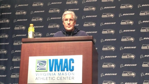 Seahawks coach Pete Carroll: 'We have to bounce back'