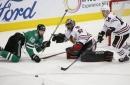 Seguin scores 2, Stars blank Blackhawks 4-0 behind Bishop (Dec 21, 2017)