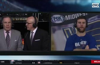 Pietrangelo: 'Those goals are just mental lapses in the d-zone that we just can't have'