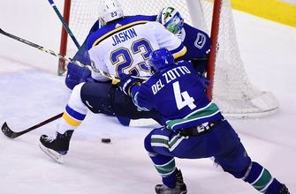 Blues need a scoring spark as they face struggling Canucks