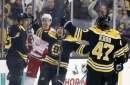 Bruins beat Red Wings 3-1 for 4th straight victory