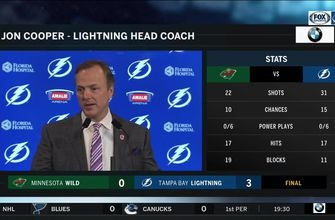 Jon Cooper: In the end, we had a few more looks than them