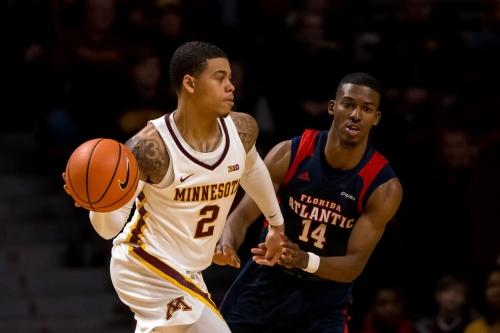 Minnesota Basketball: Gophers Take Care of Business Routing Florida Atlantic 90-65