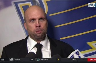 Mike Yeo says Vladimir Tarasenko's 'work ethic was very noticeable' against Canucks