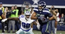 Seahawks LB K.J. Wright has kind of owned Dez Bryant against the Cowboys Sunday