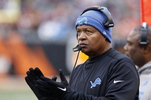 Jim Caldwell's time as Lions head coach should be over after Detroit's performance against Cincinnati
