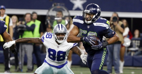 Seahawks LB K.J. Wright beat a nasty bout of food poisoning to lead Seattle to 21-12 win over Dallas
