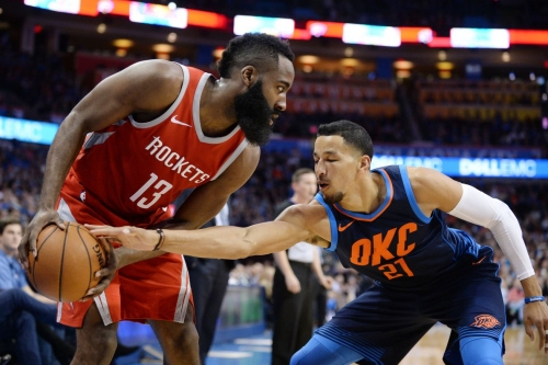 Rockets get coal in their stocking, lose to Thunder 112-107