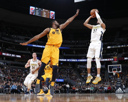 Denver Nuggets' defense locks down Utah Jazz to win third straight game