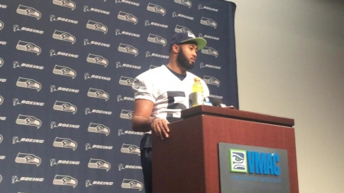 Seahawk linebacker K.J. Wright says Earl Thomas can go to Dallas at the end of his career, but not now
