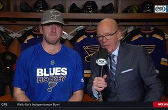 Allen on Blues struggles: 'It's a tough time for a lot of guys'
