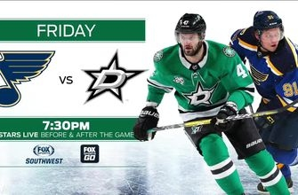 Dallas Stars vs. St. Louis Blues preview | Stars Live