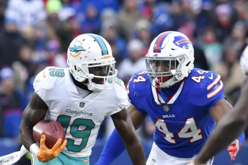 The playoffs are on the line as the Buffalo Bills take on the Miami Dolphins
