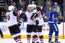 Coyotes go for two against Toronto