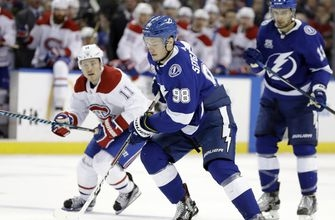 Stamkos leads surging Lightning past Canadiens 3-1 (Dec 28, 2017)