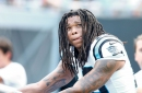Why were the Carolina Panthers 19-22-1 with Kelvin Benjamin and 23-3 without him?