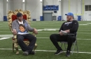 T.J. Lang finally gets his chairs from Matthew Stafford on the final episode of 'Talkin' with T.J.'