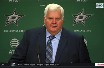 Ken Hitchcock happy with 4-2 win against St. Louis