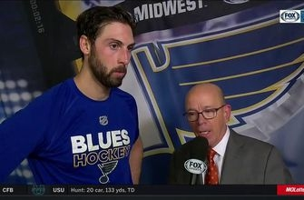Robert Bortuzzo: 'We need to find a way to lock games down late'