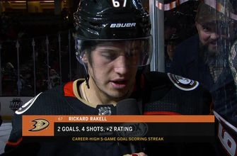 Rickard Rakell (two goals) helps Ducks down Coyotes on New Year's Eve