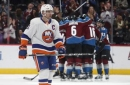 Landeskog scores 2 goals as Avalanche rout Islanders, 6-1 (Dec 31, 2017)