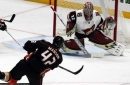 Coyotes' late-game struggles continue in loss to Ducks
