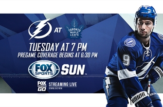 Preview: Lightning look for more road success when they take on Maple Leafs
