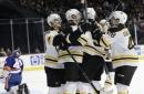 Bruins score 3 in third, pull away to beat Islanders 5-1 (Jan 02, 2018)