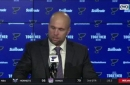 Yeo on Blues decision not challenge goal: 'I gave him a chance to change his mind. I'm glad he didn't'