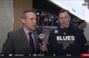 Tarasenko on Hutton's amazing saves: 'You try to play harder and…play for those guys'