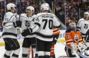 Quick, Brown lead Kings to 5-0 win over Oilers (Jan 02, 2018)