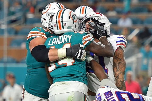 Penalty recap: Buffalo Bills at Miami Dolphins