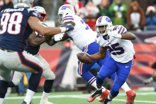LeSean McCoy, Jordan Mills lead Wild Card injury report for Buffalo Bills